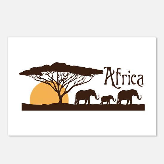 African Sunset Postcards (Package of 8)