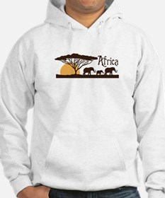 African Sunset Hoodie