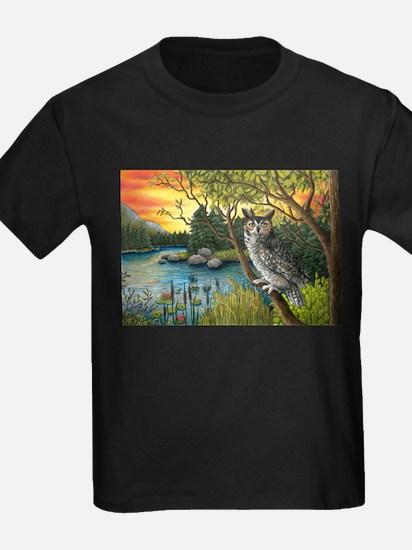 Bird 68 Owl T-Shirt