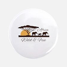 Wild & Free Button