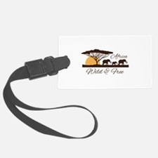 Wild & Free Luggage Tag