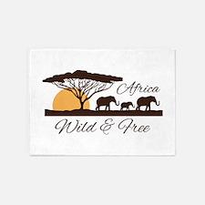 Wild & Free 5'x7'Area Rug