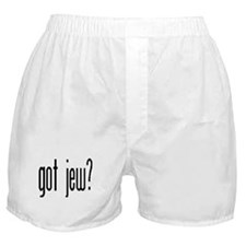 got jew? Boxer Shorts
