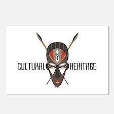 Cultrual Heritage Postcards (Package of 8)
