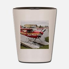 Just plane crazy: float plane 22 Shot Glass
