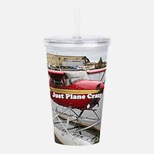 Just plane crazy: floa Acrylic Double-wall Tumbler