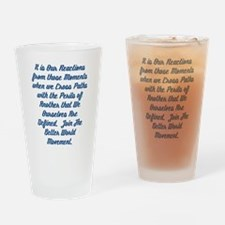 Paths of Peril Drinking Glass