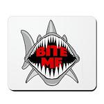 Bite Me Shark Mousepad