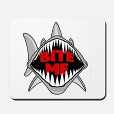 Bite Me Shark Mousepad