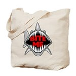 Bite Me Shark Tote Bag
