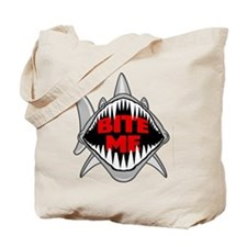 Bite Me Shark Tote Bag