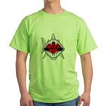 Bite Me Shark Green T-Shirt