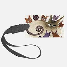 Florida Stray Cats Luggage Tag