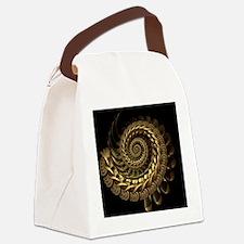 Golden Spire Canvas Lunch Bag