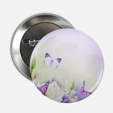 "Flowers and Butterflies 2.25"" Button (100 pack)"