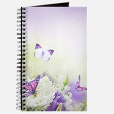 Flowers and Butterflies Journal