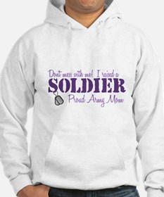 Army Mom Jumper Hoody