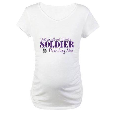 Army Mom Maternity T-Shirt