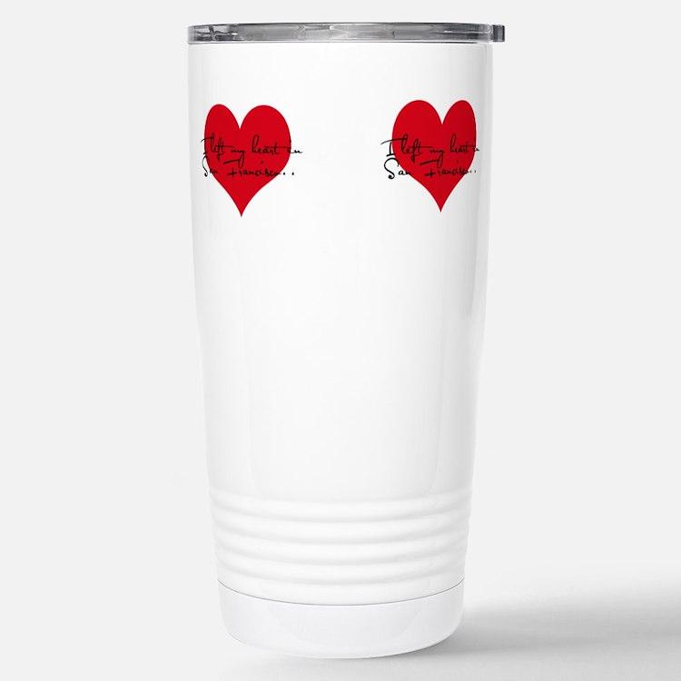 Cute I heart san jose Travel Mug