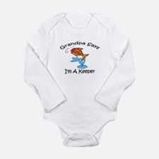 Unique Grandpa fishing Long Sleeve Infant Bodysuit