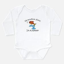 Unique Baby grandpa Long Sleeve Infant Bodysuit