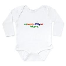 Cute Attorney Long Sleeve Infant Bodysuit