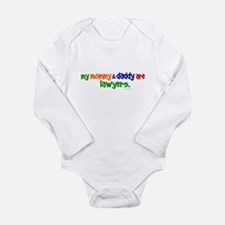 Lawyer daddy Long Sleeve Infant Bodysuit