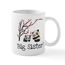 Panda Bears Big Sister Mug Mugs