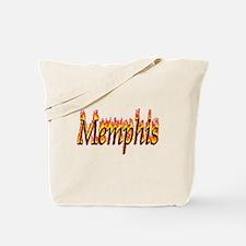 Memphis Flame Tote Bag