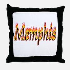 Memphis Flame Throw Pillow