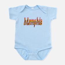 Memphis Flame Body Suit