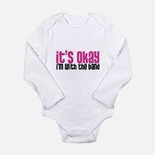 With the band Long Sleeve Infant Bodysuit