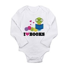 Unique Reading Long Sleeve Infant Bodysuit