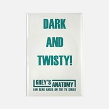 DARK & TWISTY Rectangle Magnet