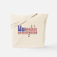 Patriotic Memphis Tote Bag