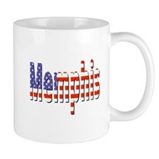 Patriotic Memphis Mugs