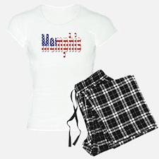 Patriotic Memphis Pajamas