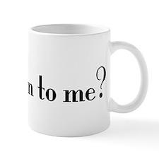 Jew talking to me? Small Mugs