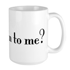 Jew talking to me? Ceramic Mugs