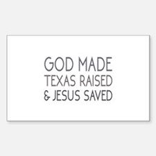 God Made Decal