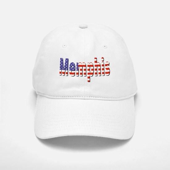 Patriotic Memphis Baseball Cap