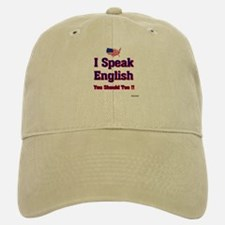 I speak english Baseball Baseball Cap