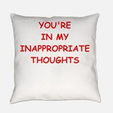 dirty mind Everyday Pillow