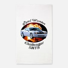 Dodge Challenger SRT8 Area Rug
