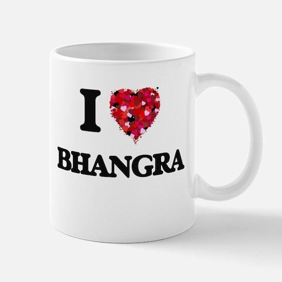 I Love My BHANGRA Mugs