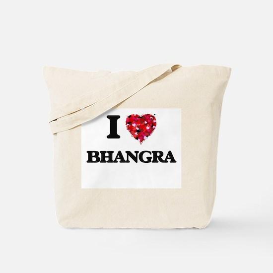 I Love My BHANGRA Tote Bag