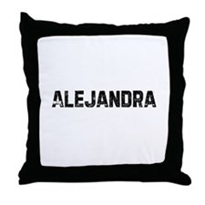 Alejandra Throw Pillow