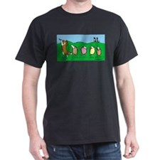 Unique Sheltie agility T-Shirt