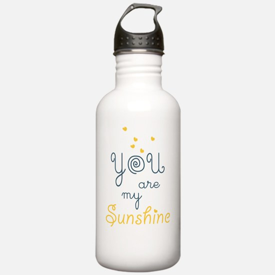 you are my sunshine Sports Water Bottle