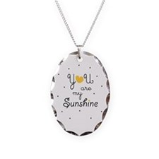 Cute You are my sunshine Necklace